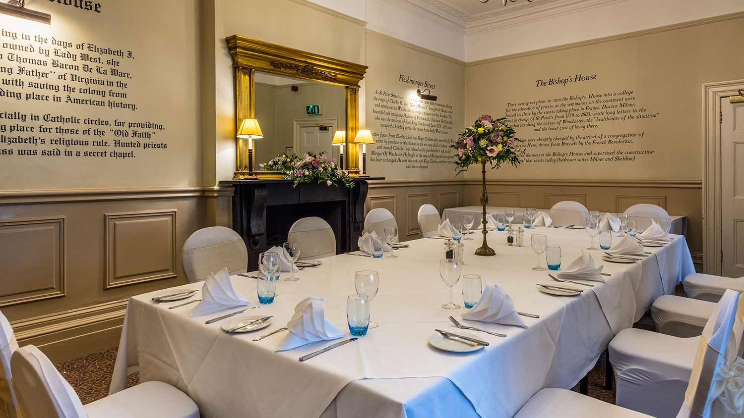 Private Dining Events - Winchester Royal Hotel
