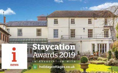 Staycation Awards Nomination